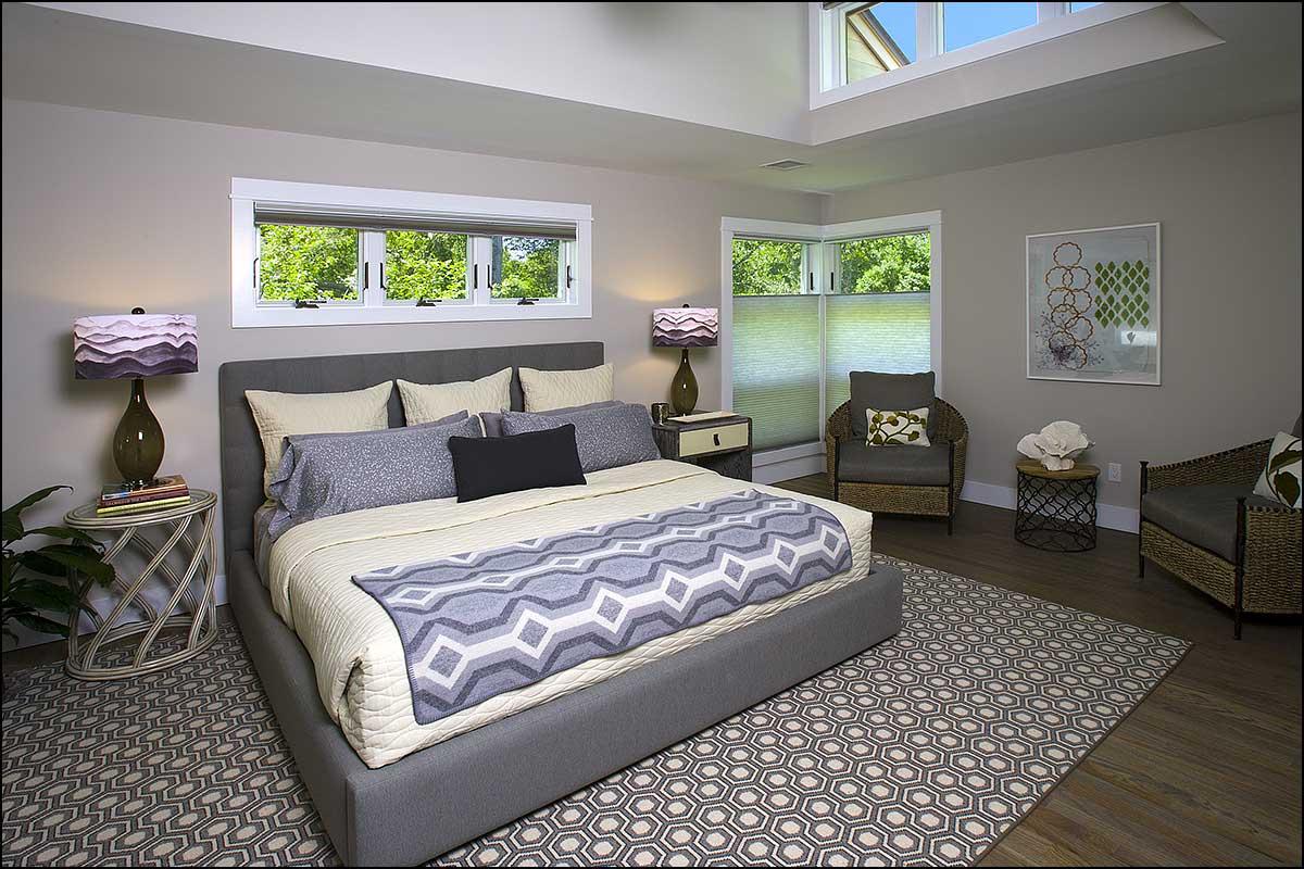 Saltbox Modern Update East Hampton Ny Master Bedroom Tom Vitale Design